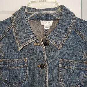 LOFT Jackets & Coats - Women's Ann Taylor Loft Jean Jacket Size 6